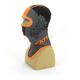 Youth Black/Orange Shredder Balaclava - 2712.30107