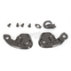 Black Ratchet Kit for AFX Helmets - 0133-0335