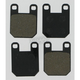 Brake Pads for GMA Calipers - Style F - GMAFPADS
