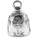 Pewter Cross Ride Bell - BEA1020