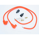 Orange Universal 8mm Pro Wire Set w/90 Degree Boot - 76881