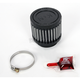 Universal Round/Straight Clamp-On Filter - 2 7/8 in. O.D. x 3 in. L x 1 3/4 in. I.D. - 62-1470