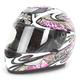 White/Fuchsia FX-95 Dfly Helmet