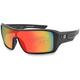 Matte Black/Red Mirror Paragon Sunglasses - EPAR001