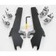 Batwing Black Trigger Lock Hardware - MEK1930