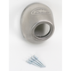 Rear Stainless Steel Straight Cut Cone Cap for Powercore 4 and Q4 Exhaust - 040634
