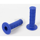 Blue Half Waffle MX Single-Ply Grips - H01RFU
