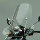 15 1/2 in. Clear Scooter Windshield - 0700-1004