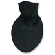Black Neoprene Half Mask Neck Shield - WNFM114HN