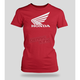 Womens Red Big Wing T-Shirt