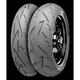 Rear Conti Sport Attack 2 190/50HR-17 Blackwall Tire - 02440120000