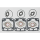 Hi-Performance Full Top Engine Gasket Set - C2042