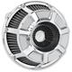 Chrome Bevelled Inverted Series Air Cleaner Kit - 18-932