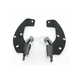 Black Batwing Plate-Only Hardware - MEK1816