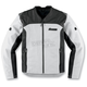 White Leather Device Jacket