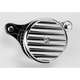 Chrome Finned Air Cleaner Assembly - 02-142C