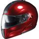 Metallic Wine IS-Max BT Modular Helmet