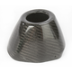 Replacement Carbon Fiber Rear Cone Cap for Factory 4.1 Exhaust - RCT - 040643