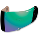 Mirror Green Fog-Free Con Optics Shield for Airmada/Airframe Pro Helmets - 0130-0480