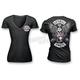 Womens Vintage Pink Biker T-Shirt