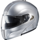Metallic Silver IS-Max BT Modular Helmet