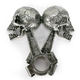 Piston Skulls Stick-On Emblem - LT88674