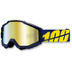 Blue/Yellow Accuri Charger Goggle w/Mirror Gold Lens - 05210-097-02