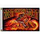 Street Rider Skull Flag - FGA1026