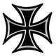 3x3 Iron Cross Patch - PPA1392