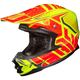 Hi-Viz Neon Orange/Yellow/Black MC-3H FG-X Grand Duke Helmet
