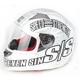 Matte White SS1500 Seven Sins Helmet