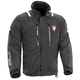 Black/White/Red Extreme Platinum Snowmobile Jacket