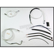 Custom Sterling Chromite II Designer Series Handlebar Installation Kit for Use w/12 in. - 14 in. Ape Hangers (w/ABS) - 387351