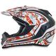 Orange FX-19 Vibe Helmet