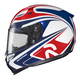 Zappy RPHA-10 White/Blue/Red Helmet