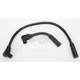 Black 409 Pro Race Wires w/90 Degree Boot - 40031