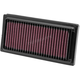 High Flow Air Filter - HD-1208