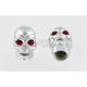 Skull Valve Stem Caps - 53222