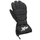 Womens Black Platform Gloves