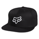 Black Switch Hitter Snapback Hat - 06963-001-OS
