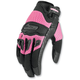 Womens Twenty-Niner Pink Gloves
