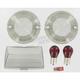Smoke Turn Signal/Fender Tip Lens Kit - 4995