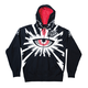 Black Cyclops Zip-Up Hoody