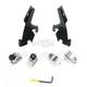Night Shades Black No-Tool Trigger-Lock Hardware Kits for Fats/Slim - MEB1943