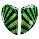 Green Airmada Spaztyk Sideplates - 0133-0766