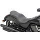 Black Smooth Low-Profile Touring Seat - 0810-1605