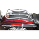 Chrome 7 in. Solo Luggage Rack - MWL-175-09
