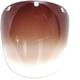 Gradient Amber Retro 3 Snap Fixed Shield - 2024842