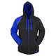 Blue/Black United By Speed Armored Hoody