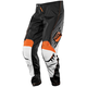 Black/White/Orange Axxis Pants